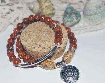 Pair of Boho bracelets