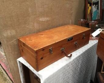 pharmacist wooden chest