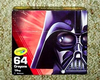 Crayola, Star Wars Darth Vader, Limited Edition Box of 64-Count Crayons.  Brand New Box.