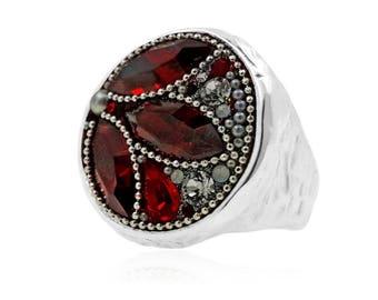 Red Elegance Ring