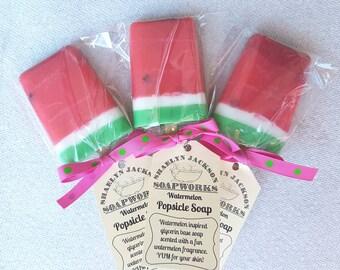 Watermelon Popsicle Soap