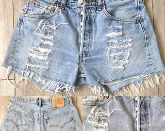 Short Vintage Levis 501