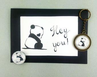 """Gift set """"Panda"""""""