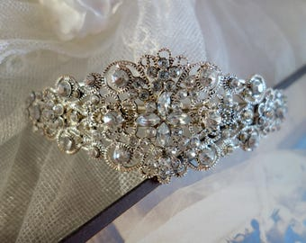 Hair Clip-Wedding or party jewelry-vintage