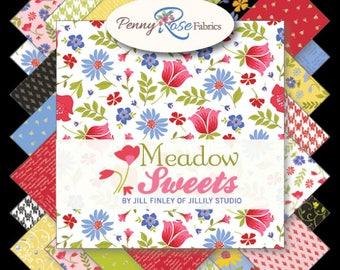 """Meadow Sweets - 5"""" Stacker - Riley Blake  by Jill Finley"""