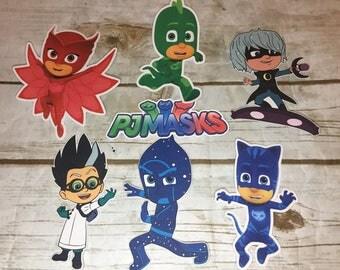PJ Masks  Die Cuts/Party Decor