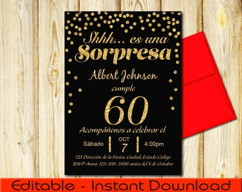 Pictures Of 60th Birthday Invitations In Spanish