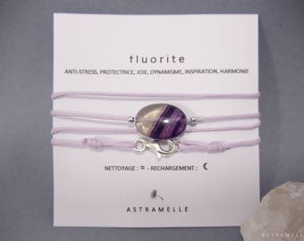 Greed Fluorite necklace