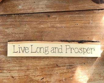 Live Long and Prosper Decoration