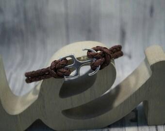 Braided strap anchor