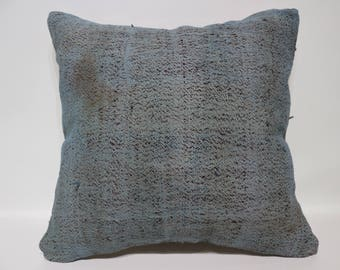 Handwoven Kilim Pillow Sofa Pillow 20x20 Turkish Kilim Pillow Anatolian Kilim Pillow Ethnic Pillow Decorative Kilim Pillow SP5050-2453