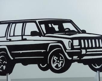 JEEP XJ 200 metal sign decorative plaque