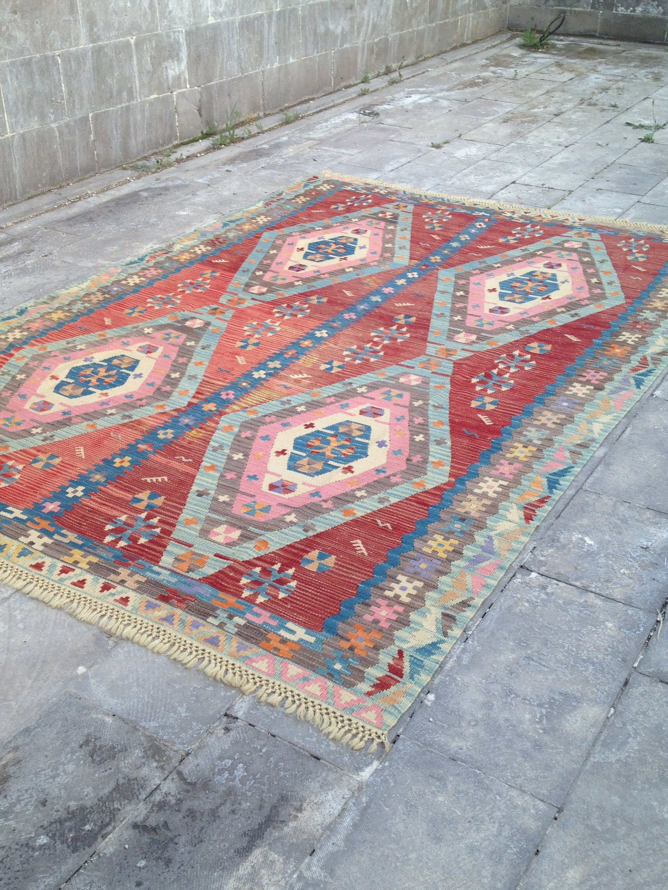 6x9 area rug for living room large and vintage turkish kilim for Living room rugs 6x9