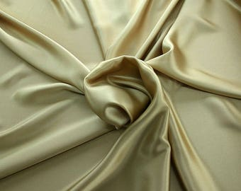 1712-009 - Crepe Satin silk 100%, width 135/140 cm, made in Italy, dry cleaning, weight 100 gr
