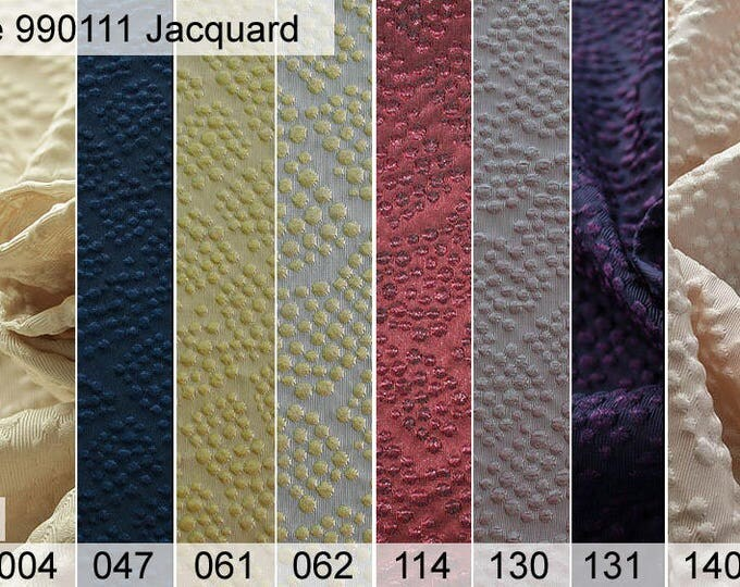 990111 Jacquard sample 6 x 10 cm