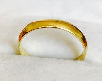 SALE*** superb 18ct yellow gold Millenium wedding ring