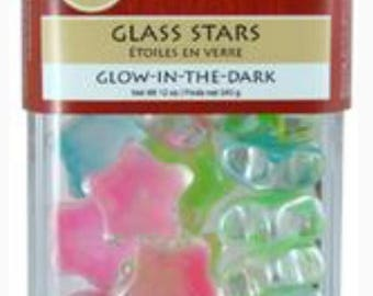 Glass Glow in the Dark Stars 12oz