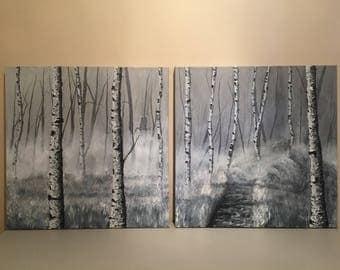 Hideaway - Original Acrylic Painting