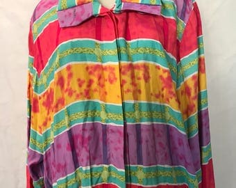 90's Color Pop Pullover