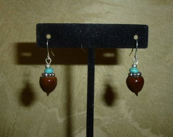 Acorn Earrings #207