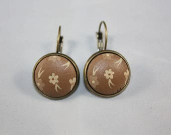 Earrings 'Laurette' flowers 15mm