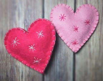 Organic Catnip Toy Valentine's Day Heart