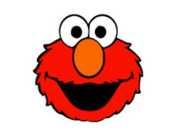 ELMO SVG 4 LAYERS