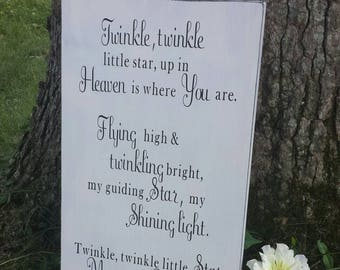 My perfect angel sign-memorial sign-infant loss-child loss-grieving Mother-rustic sign-gift