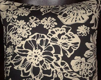 Black and White Envelope Pillow Cover