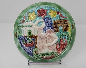 Decorative plate of Tunisia S BANANNO