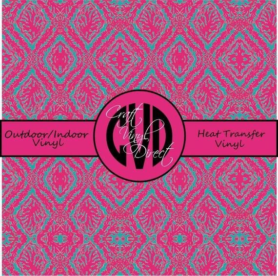 Beautiful Patterned Vinyl // Patterned / Printed Vinyl // Outdoor and Heat Transfer Vinyl // Pattern 55