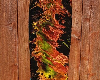 "Skateboard Art - ""Persei"""