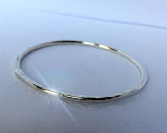 Bracelet closed in silver