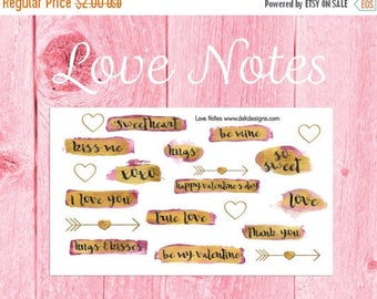 45% Off Love Notes