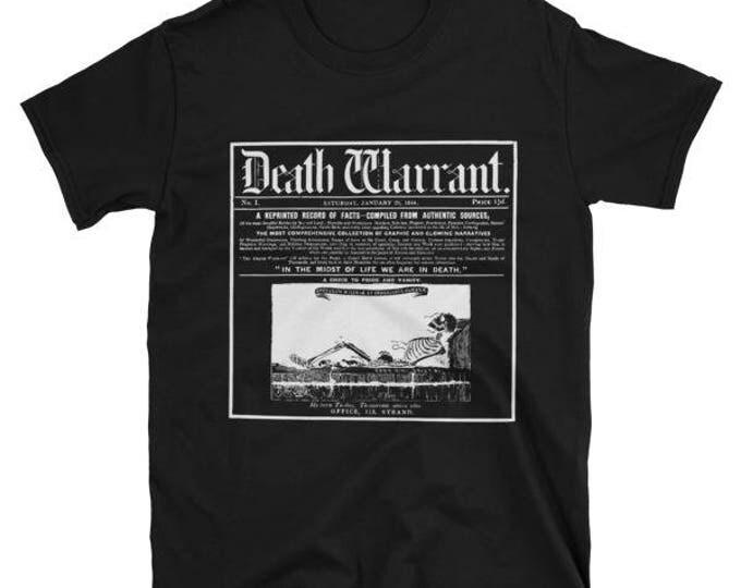 Death Warrant Tee- Black