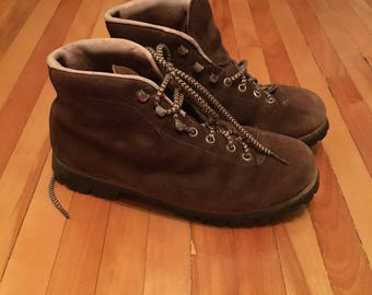 Vibram Vintage 1970's Mountain Boots - Made in Italy