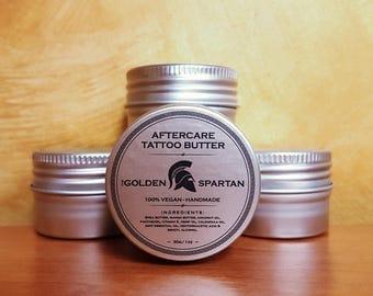 Aftercare Tattoo Butter - The Golden Spartan