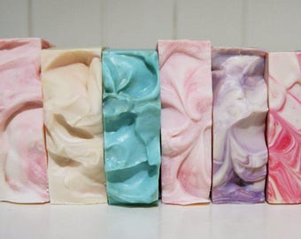SUPER SALE!!!  10 soap pack (4.00 each) handmade soap, australian soap, cocoa butter soap, shae scentials