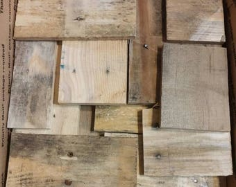 Scrap Reclaimed Wood, Craft Wood, Pallet Wood Scrap FREE SHIPPING