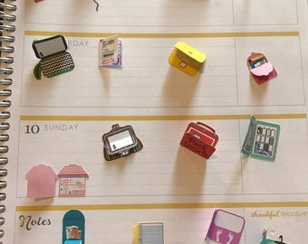 3D Planner Stickers