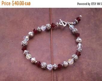 ON SALE Vintage Beaded Bracelet