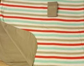 Carseat Canopy - Stripe Print