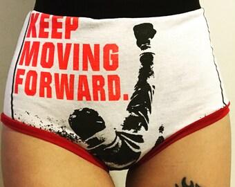 SM Rocky Sylvester Stallone High-Waist Panties