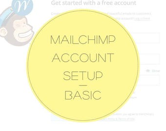 MAILCHIMP Account Setup - Basic - Brand your Mailchimp Account