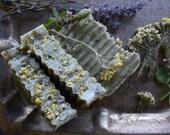 Lavender + Tulsi + Yarrow Flower Lard Soap