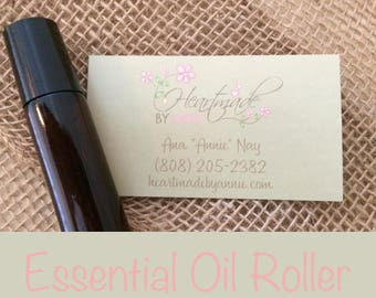 CUSTOM Essential Oil Roller