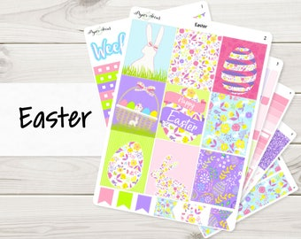 Easter Weekly Kit | Planner Stickers