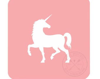 Unicorn Nail Vinyl Fingernail Art Stencils