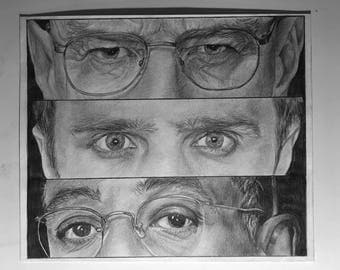 Breaking Bad Faces Drawing