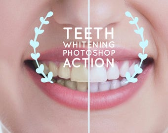 Teeth Whitening PhotoShop Action